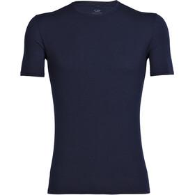 Icebreaker M's Anatomica SS Crewe Shirt Midnight Navy